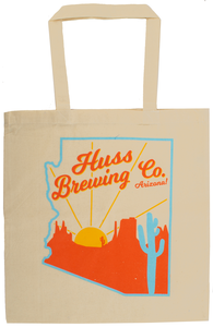 Huss Brewing Canvas Bag