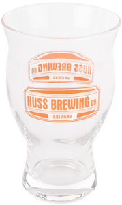 Huss Brewing Glass Cup