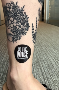 Be the Voice Temporary Tattoo (Pack of 25)