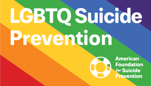 LGBTQ Suicide Prevention Wallet Brochure (Pack of 25)