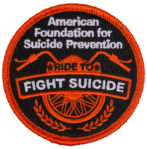 Ride to Fight Suicide Patch