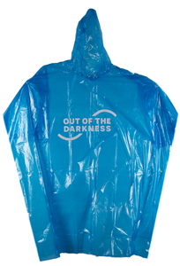 Out of the Darkness Rain Poncho