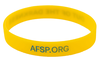 Yellow and Blue Out of the Darkness Wristband (Pack of 10) image 2