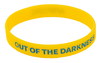 Yellow and Blue Out of the Darkness Wristband (Pack of 10) image 1