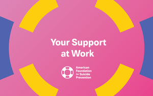 Your Support at Work Postcard (Pack of 25)