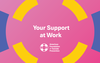Your Support at Work Postcard (Pack of 25) image 1