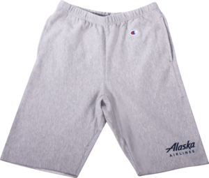 Alaska Airlines Champion Terry Shorts