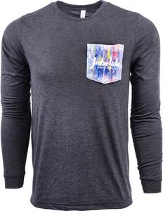 Beer Logo Long Sleeve Pocket T-Shirt: Jubelale