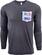 Beer Logo Long Sleeve Pocket T-Shirt: Jubelale  image 1