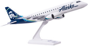 Skymarks Snap Together Alaska Airlines/Skywest Embraer ERJ175 1/130