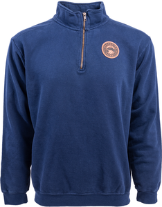 Deschutes Brewery Leather Patch Quarter Zip