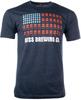 American Flag Unisex Tee image 1