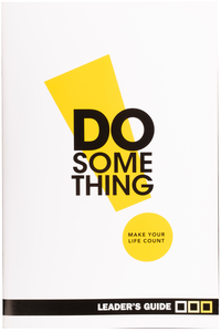 Do Something Leader's Guide - Singles