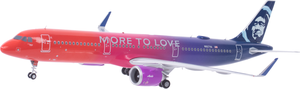 Alaska Airlines Airbus A321 More to Love 1/200