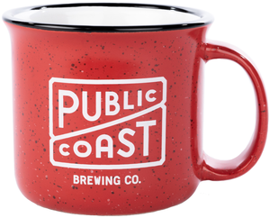 Public Coast Brewing Camp Mug