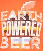 Earth Powered Beer Tee image 3