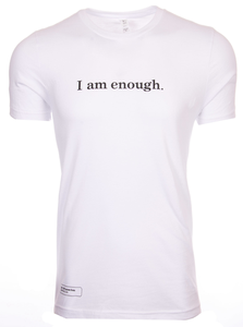"""I am enough"" classic tee"