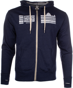 Public Coast Brewing Full Zip Hoodie
