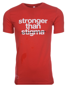 """Stronger than Stigma"" classic tee"