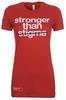 """Stronger than Stigma"" contoured tee image 1"
