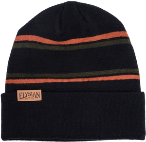 Elysian Striped Beanie