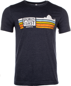Public Coast Brewing Cannon Beach Tee