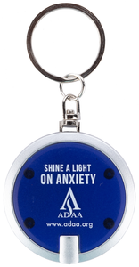 ADAA Shine a Light on Anxiety Disc Key-Light