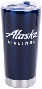Alaska Airlines AS Wordmark Tumbler
