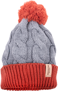 Deschutes Brewery Leather Patch Pom Beanie