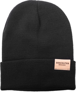 Deschutes Brewery Leather Patch Beanie