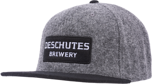 Deschutes Brewery Wordmark Wool Flat Bill Hat