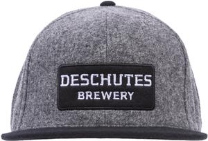 Deschutes Brewery Wordmark Wool Flat Bill Hat