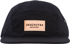 Deschutes Brewery Leather Patch 5 Panel Hat