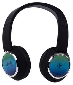Alaska Airlines Bluetooth Headphones
