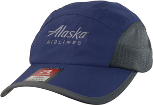 Alaska Airlines Cap Running