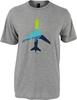 Alaska Airlines T-shirt Unisex Aura Plane image 1