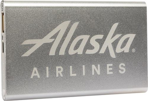 Alaska Airlines Portable Slim Powerbank