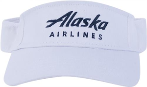 Alaska Airlines Twill Visor