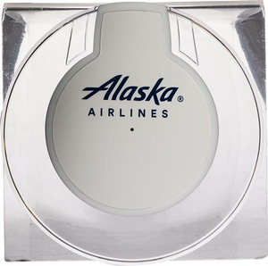 Alaska Airlines Qi Charging Port