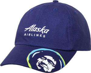 Alaska Airlines Eskimo Cap