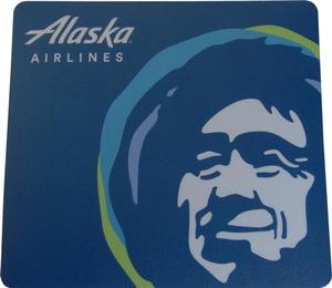 Alaska Airlines Mousepad Eskimo