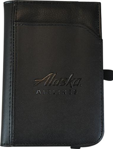 Alaska Airlines Passport Wallet Leather