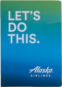 Alaska Airlines Let's Do This Journal