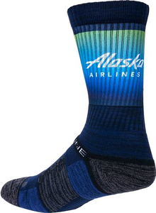 Alaska Airlines Strideline Socks