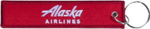 Alaska Airlines Keychain Remove Before Flight