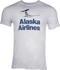 Alaska Airlines T-Shirt Unisex Vintage Tail