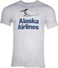 Alaska Airlines T-Shirt Unisex Vintage Tail  image 1