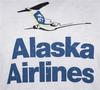 Alaska Airlines T-Shirt Unisex Vintage Tail  image 3