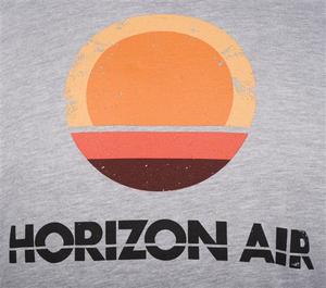 Horizon Air T-Shirt Unisex Heritage Vintage Logo