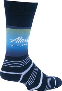 Alaska Airlines Strideline Business Dress Socks